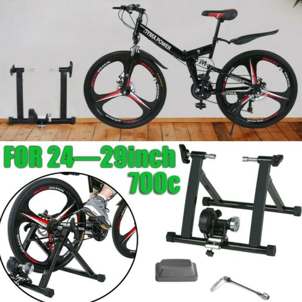 Bk Bike Trainer Stand Magnetic Bicycle Stationary Stand Indoor Exercise 24 29quot; $77.58