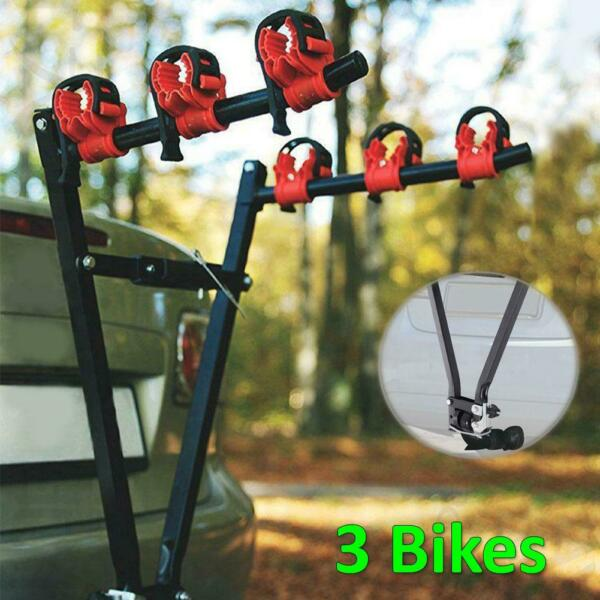 3 Bike Carrier Rack Hitch Mount Swing Down Receiver Bicycle For Car SUV Truck $40.41
