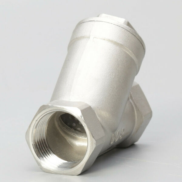 Y strainer 3 4quot; pump filter NPT Stainless steel 316 1000PSI Mesh Water Oil $12.50