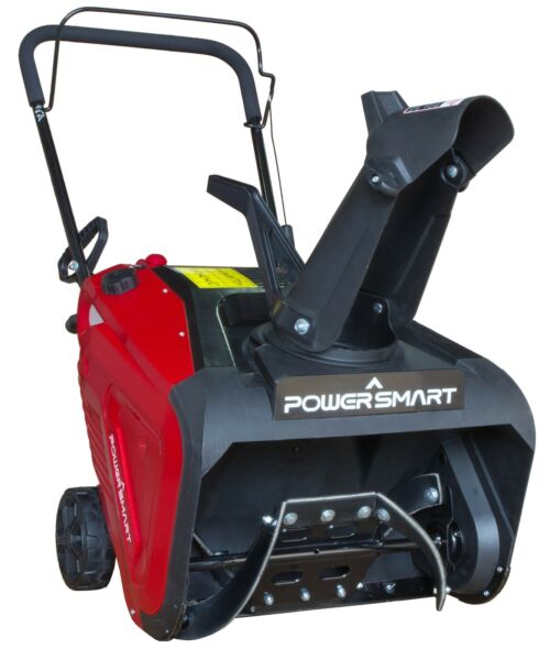 PowerSmart PSS1210M 21 inch Single Stage Gas Snow Blower Red