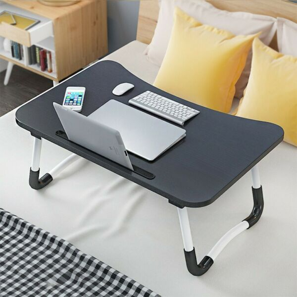 Large Bed Tray Foldable Portable Multifunction Laptop Desk Lazy Laptop Table US $14.59