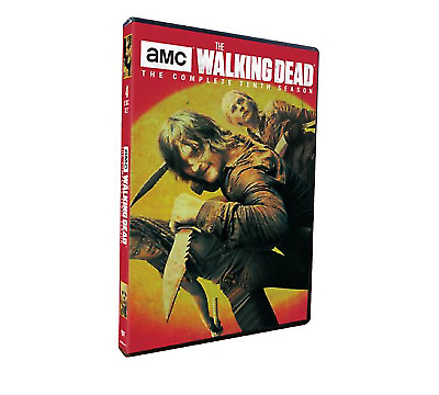 The Walking Dead Season 10 4 Disc DVD Set Brand New and Sealed