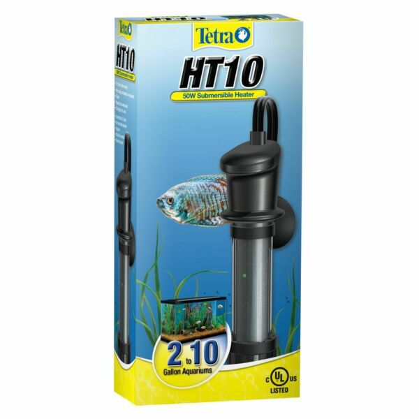 Tetra Ht10 Submersible Aquarium Heater 50 Watt No Box $10.00