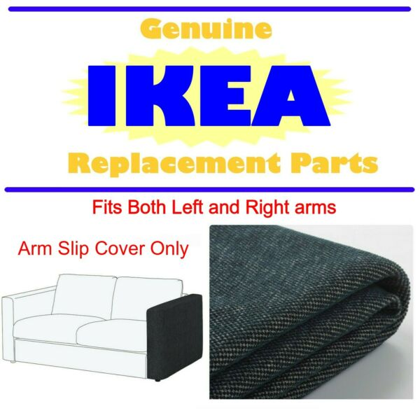 2 IKEA VIMLE COVER SLIPCOVER FOR ARMRESTS Gunnared medium gray 104.094.61 $39.99