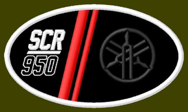 YAMAHA SCR 950 EMBROIDERED PATCH 3 3 4quot;x 2 1 8quot; MOTORCYCLE V2 BIKE ROADSTER #3 $12.00