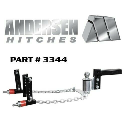 Andersen NoSway Weight Distribution Hitch 4quot; drop rise 2 5 16quot; ball 4 3 8quot; Frame $599.99