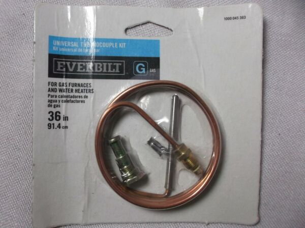 36quot; Universal Thermocouple Kit Gas Furnaces Water Heaters 1000 045 383 $9.75