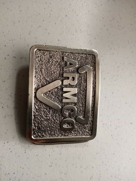 Armco Steel Vintage Belt Buckle