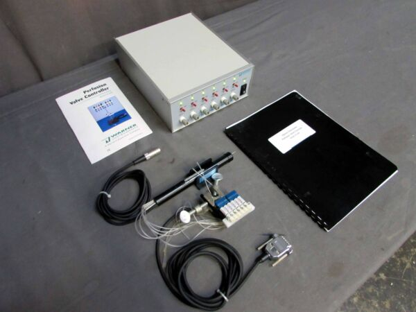 Warner Inst. VC 6 Perfusion Valve Controller Manifold SHM 6 Inline Heater $495.00
