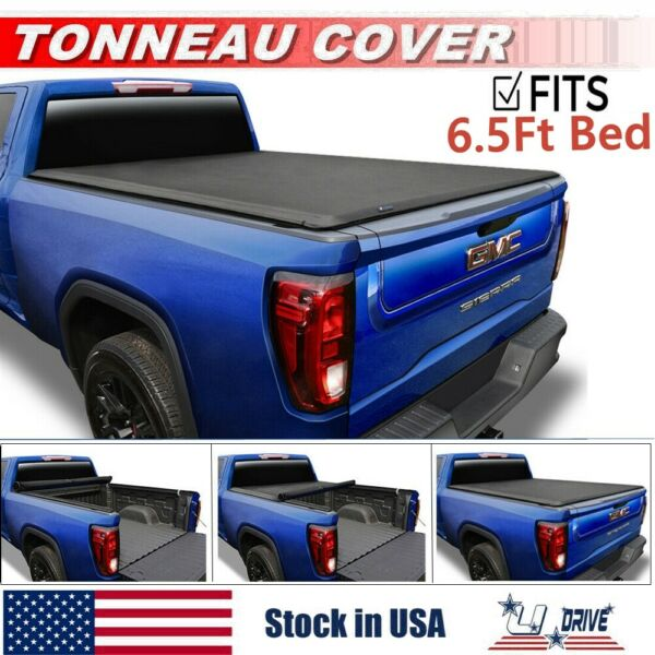 Roll Up Soft For 1999 2006 GMC Sierra 1500 2500 3500 6.5ft Bed Tonneau Cover $137.50
