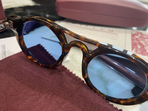 Sunglasses Jacques Marie Mage Sold Out Willem Havana Blue
