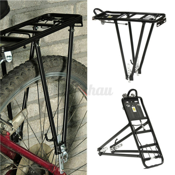 Alloy Bicycle Rear Rack Bike Carrier Bracket Pannier Luggage Bag Cycle Seat $17.97