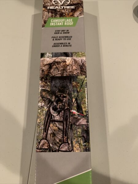 Realtree Camoflage Instant Roof For Tree Stand GET IT FAST US SHIPPER $23.99