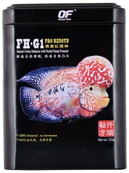 FH G1 PRO redsyn. VIP flowerhorn pellet for kok and red 120g $18.49