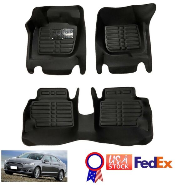 Auto Floor Mats Front Rear Car Carpet Waterproof fit for Ford Fusion 2013 2016 $42.16
