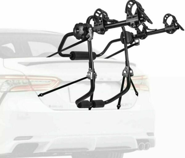 ***NIB*** AONI Car Bike Rack Trunk Carrier 1 2 Bicycle $47.99