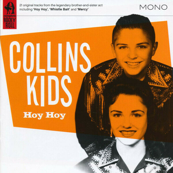 the Collins Kids Hoy Hoy CD ... Very Good Condition