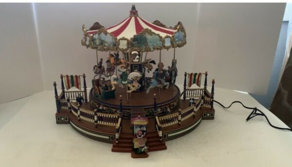 Mr. Christmas Holiday Around The Carousel Plays 30 songs 2003 CIB