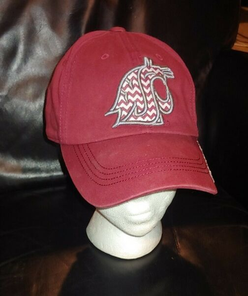 WSU Cougars Top Of the World Adjustable Strapback Retro Hat NCAA Wazzu Cougs $12.99