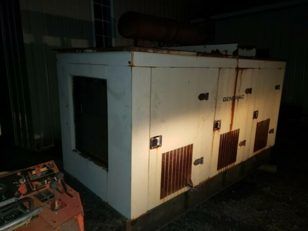 GENERAC Generator Turbo Diesel low hours