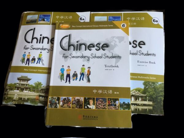 Chinese for Secondary School Students 6 textbook amp; Exercise Books $15.00