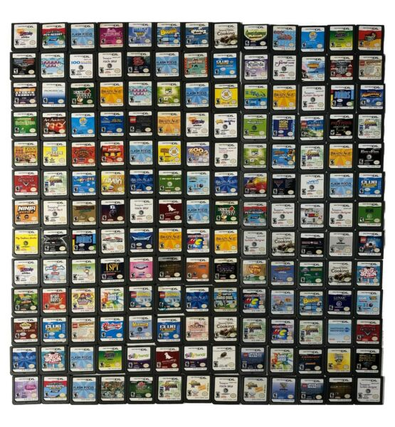 Nintendo DS Games Cart Only TESTED TO PLAY You Pick Updated 03 17 21