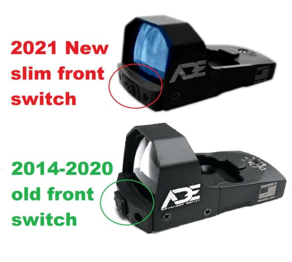 ADE 2021 rd3 006b 1 GREEN Dot Micro Reflex Sight for Optics Ready Pistol red