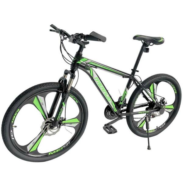 21 Speed Mountain Bike For Men#x27;s Bicycle 26quot; MAG Wheels Bicycle MTB Bikes Green. $189.99