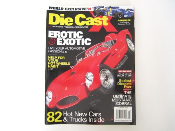 Die Cast X magazine Summer 2010 Perfect Condition