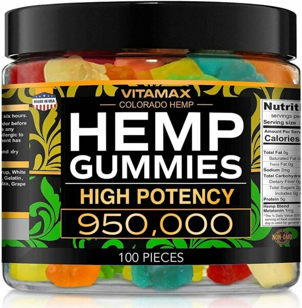 Natural Gummies for Stress Relief Great for Pain Insomnia amp; Anxiety 100ct $26.95
