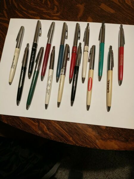 Sheaffer Ballpoint Pen Vintage Collection Of 15 Pens