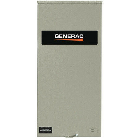 Generac Rtsw400a3 Automatic Transfer Switch240V48 In. H $2779.00