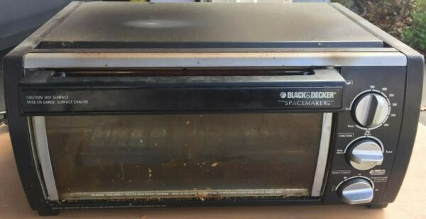 black and decker toaster oven under Cabinet mountable TROS1500B $60.00