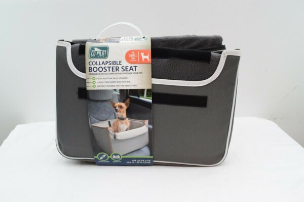 Co Pilot Pet Travels Collapsible Pet Dog Booster Car Seat for Small Dogs $25.46