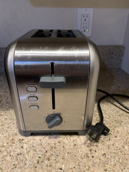 Kenmore 133111 2 Slice Toaster Stainless Steel