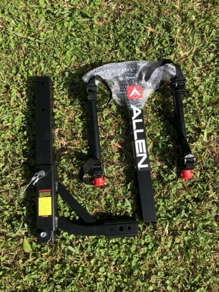 Allen Bike Hitch Rack For Two Bikes Sport Bike Mountain Bike $100.00
