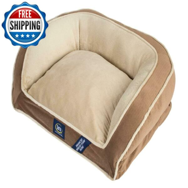 Small Pet Bed Mattress Dog Orthopedic Memory Foam Sleep Mini Couch Bed Brown $49.99
