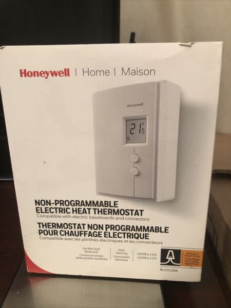 Honeywell RLV3120A Digital Non Programmable Electric Heat Thermostat $19.80