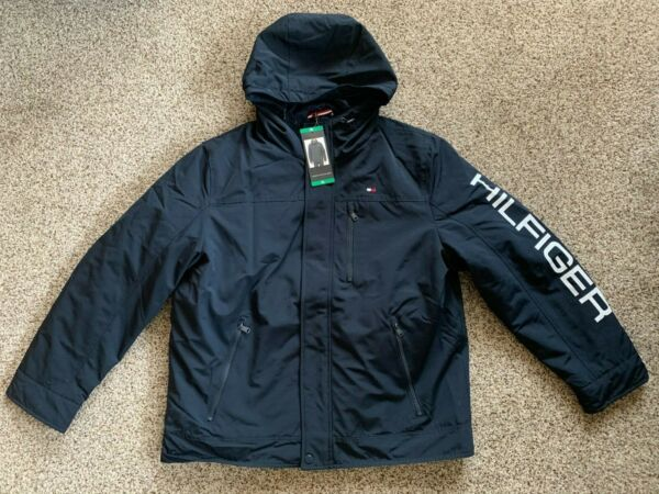 Tommy Hilfiger Men#x27;s 3 in 1 Systems Jacket Navy size M L XL $64.99