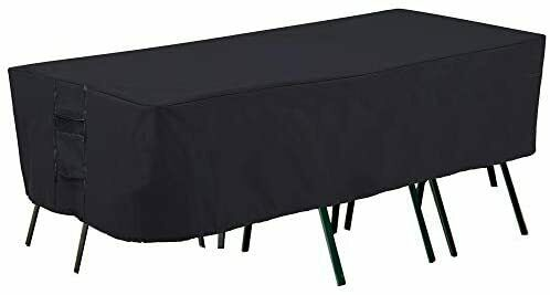 Patio Furniture Covers Heavy Duty Outdoor Table Cover Waterproof Rectangular