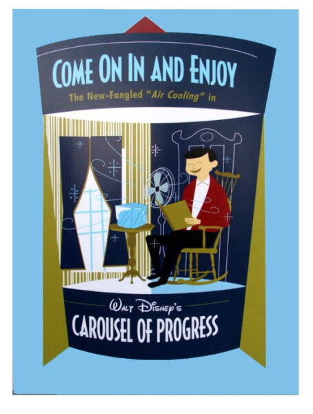 DISNEY quot;CAROUSEL OF PROGRESSquot; HISTORICAL ATTRACTION DVD