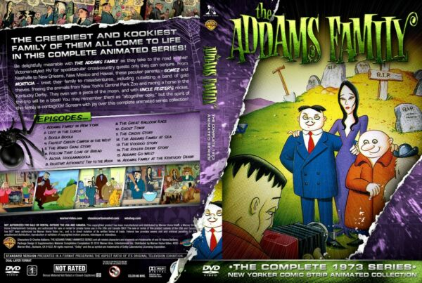 The Addams Family 1973 Animated series