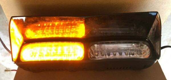 Whelen Talon Amber Amber Super LED Dual Dash Light