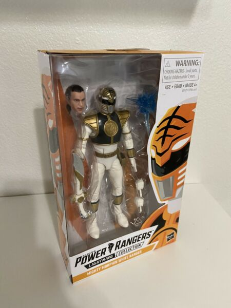 Power Rangers Lightning Collection 6 Inch Mighty Morphin Tommy White Ranger $14.95