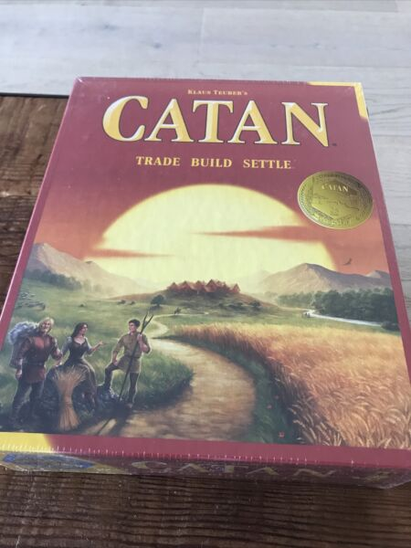 Settlers of Catan Board Game Brand New Sealed Trade Build Settle