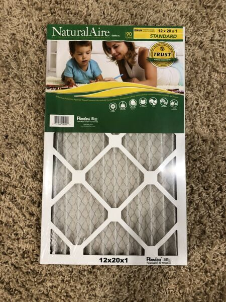 12x20x1 furnace filters 5 pack $40.00