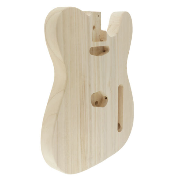 Handmade Solid Wood Electric Guitar Body Material DIY for Telecaster Guitar Part $39.82