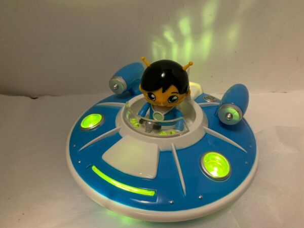 Ryan#x27;s World Electronic Space Toy And Figurine lights up and sounds like Spacesh $7.00