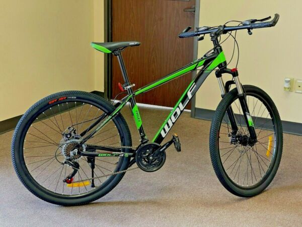 Mountain Bike 27.5quot; Front Suspension Disc Brake Men#x27;s Bicycle Aluminum 21 Speed $269.95