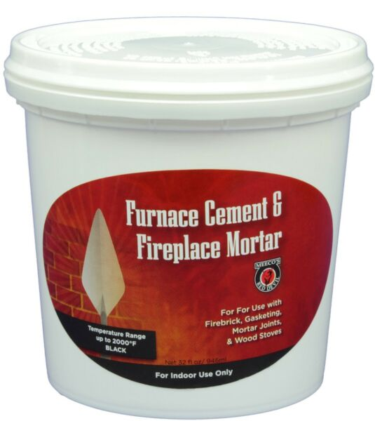 MEECO#x27;S RED DEVIL 1354 Furnace Cement and Fireplace Mortar Gray $24.43